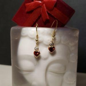 Perfect little Garnet earrings